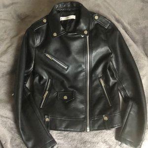 MNG Black Biker jacket